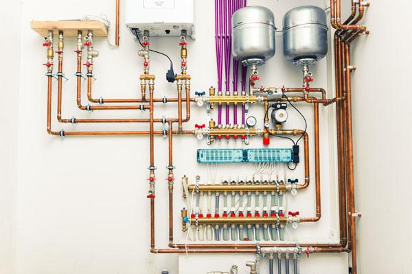 boiler and boiler expansion tank